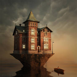 House on the water by Alshain4