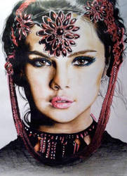 Selena Gomez by Art-is-passion04