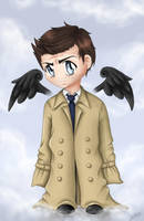 Cas - The Trench Coat Angel. by Ryuutsu