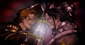 Alistair vs Loghain by GodDamnDarenCosgrove