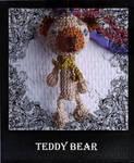 teddy bear by mapassioncreation