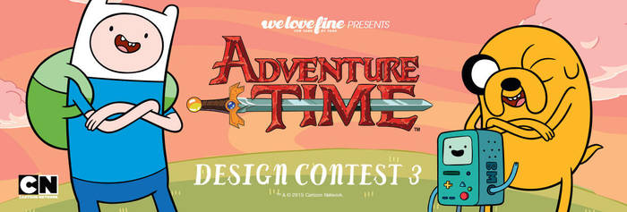 WeLoveFine Adventure Time Design Contest by welovefine