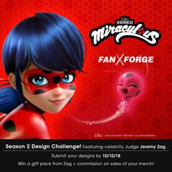 Miraculous Ladybug Fan Art Design Challenge! by welovefine