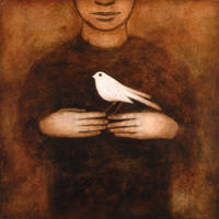 'white bird' by gatesart