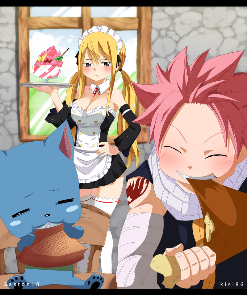 Are you hungry? Natsu x lucy by kisi86 on DeviantArt