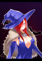 Erza Witch by kisi86