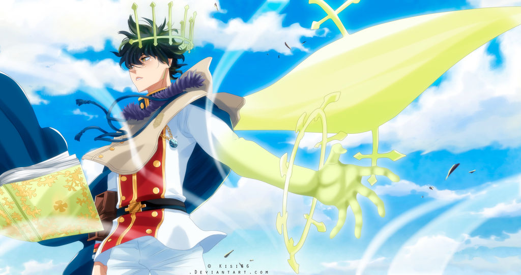 Black Clover [Chapter 132] Yuno Spirit by kisi86