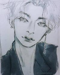 ~Hyungwon by xvxaxlxlxy