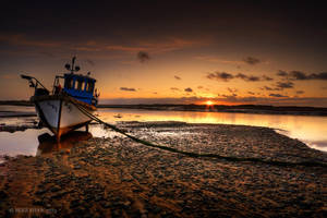Waiting For The Tide by MikeFShaw