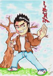 Chibi Ryo Hazuki by Djleemon