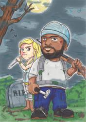 The Walking dead season 5 (Warning spoil !) by Djleemon