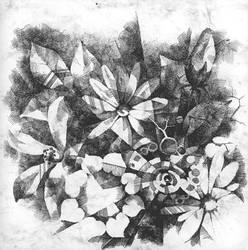 flowers by Khmelic