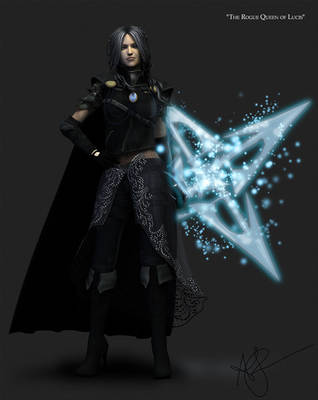 The Rogue Queen of Lucis (FFXV Fanart) by ThetaLov