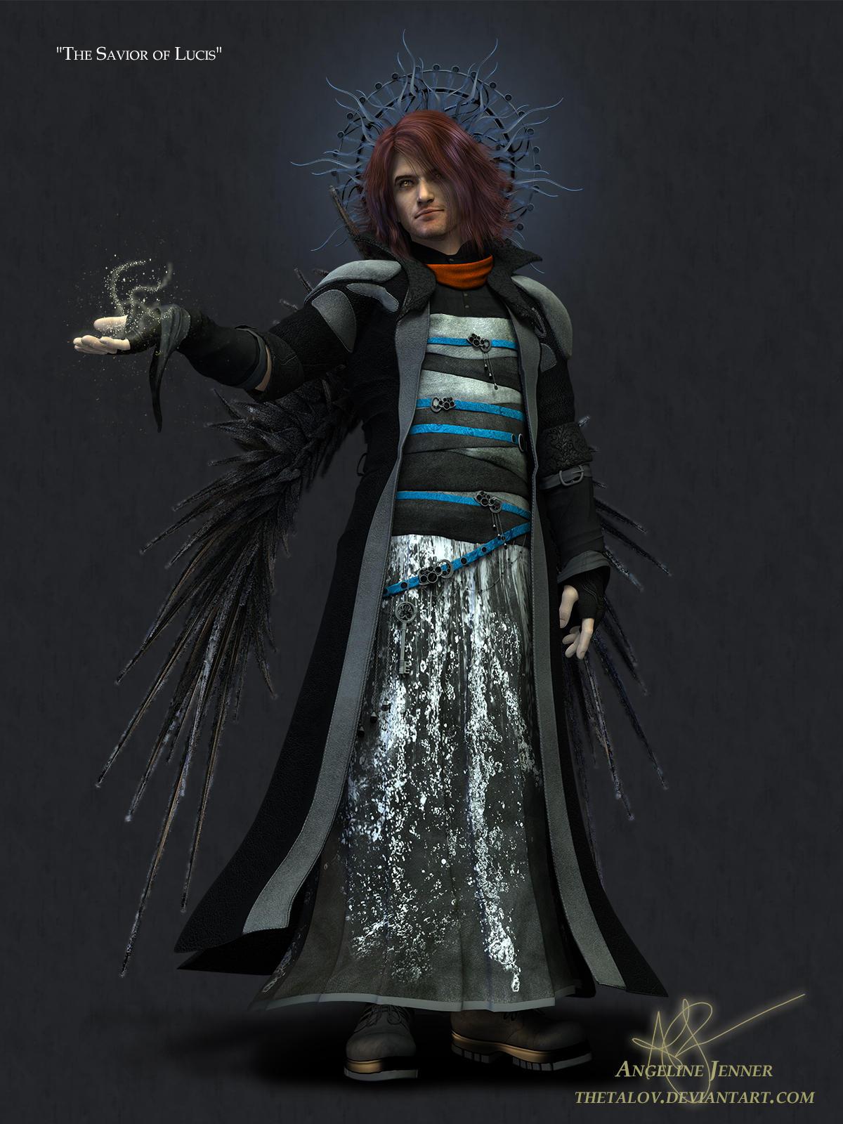 The Savior of Lucis (FFXV Fanart - spoiler?) by ThetaLov