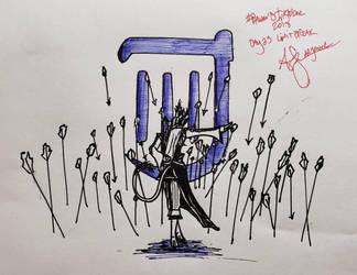 Final Fantasy Inktober Day 23: Limit Break by ThetaLov