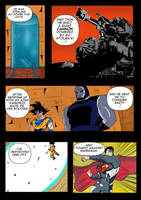Page100B - Son Goku and Superman: The Clash by Einstein001