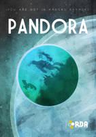 Pandora (Avatar poster) by MrShabbaUK