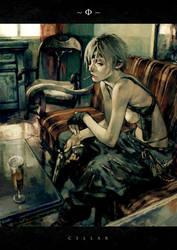 gunslinger woman by cellar-fcp