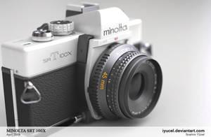 MINOLTA SRT100X by iyucel