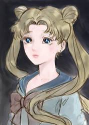 Sailor Moon fanart by kaneari