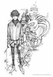 Merlin by SenselessJabberwocky