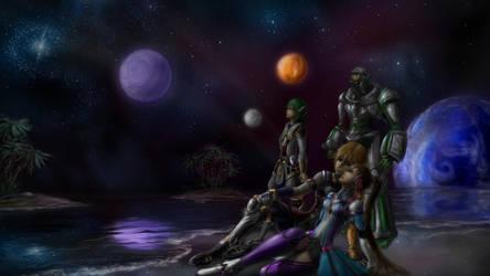 Glittering Horizon by Gi1t