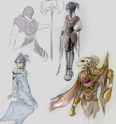 More Tales Sketches by Gi1t