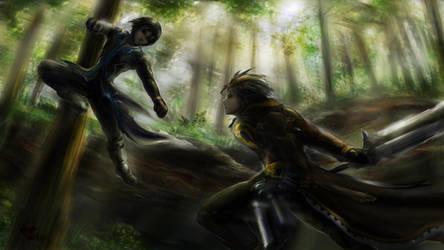 Tragic Duel by Gi1t