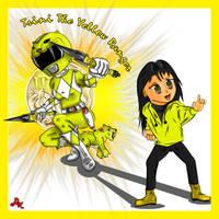 Trini the Yellow Power Ranger by DK-DarkKitty