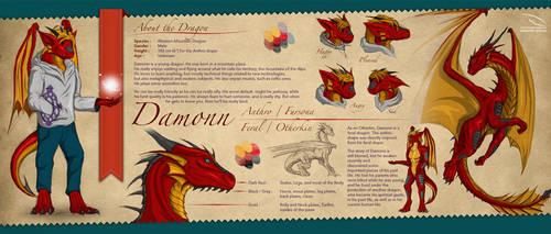 Damonn's Refsheet by iDamonn