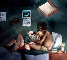 les mis: lazy days by wormwxxd