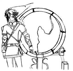 Link y el espejo by V3r1t0