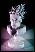 3D Kakashi bust by Murklins
