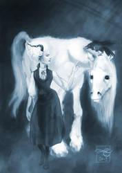 Discworld: Susan fan art by Murklins