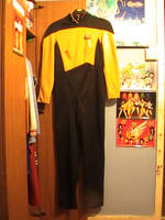 Star Trek Next Generation Costume front by Londonexpofan