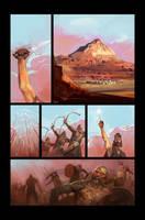 comic page no.1 by shanyar