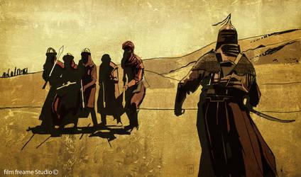 arab warrior by shanyar