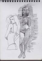 girl 2 by shanyar