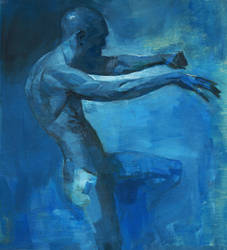 Blue by shanyar