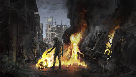 Fire by shanyar