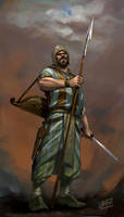 ancient iranian soldier II by shanyar
