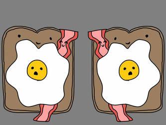 A yummy breakfast by AnimeGeekGirl101