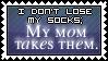 My Lack of Socks by glomdi