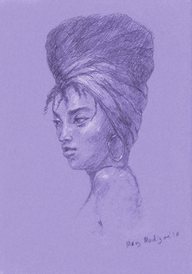 Portrait 2 by marypmadigan