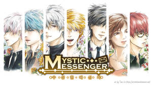 Mystic Messenger by artsinthium