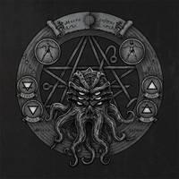 Cthulhu Pentagram (Dark) by Jack-Burton25