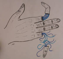 robot hand by AJ-DJ
