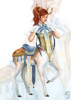 Princess Fauna by yaile