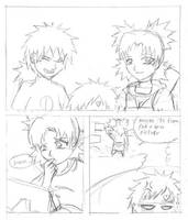 Sand sib comic: Family picture by CyanFox3