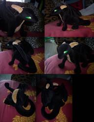 Alt black dragon hatchie FIN by CyanFox3